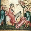 Entrée à Jérusalem - COLOGNE - Retable d'Osnabrück - 1330