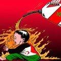 sahraouis brulés par la police marocaine