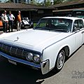 Lincoln continental hardtop (pillared) sedan-1964