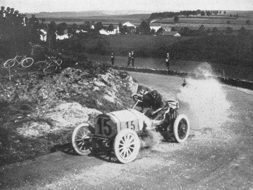 1906 circuit des ardennes - otto salzer (mercedes 6-cyl 11,1-litre) 9th