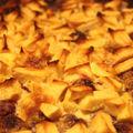 Clafouti pommes framboises