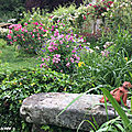 Le jardin d'andré eve ouvert aux visites de mi-mai à septembre...