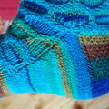 Circle socks - detalj
