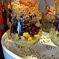Salade mexicaine en bocaux
