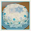 Gâteau des 1 an