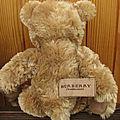 Burberry bear (ours de parfum) ;o)