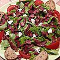 Salade aux accents périgourdins