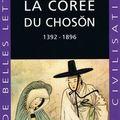 [compte-rendu] macouin, francis, la corée du chosŏn (1392-1896), guide belles lettres des civilisations, septembre 2009, 239 p