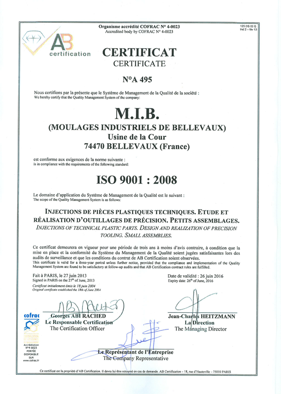 Audit de renouvellement de Certification ISO 9001 2008