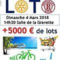 Loto rotary club et rotaract saint-lys 2018