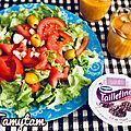 Purée de carottes.. salades de crudités..repas légers..