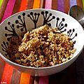 Granola aux amandes et au sirop d'érable