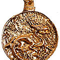 Talisman du dragon rouge du grand medium bokodaho