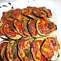 Gratin d aubergines tomate et pesto