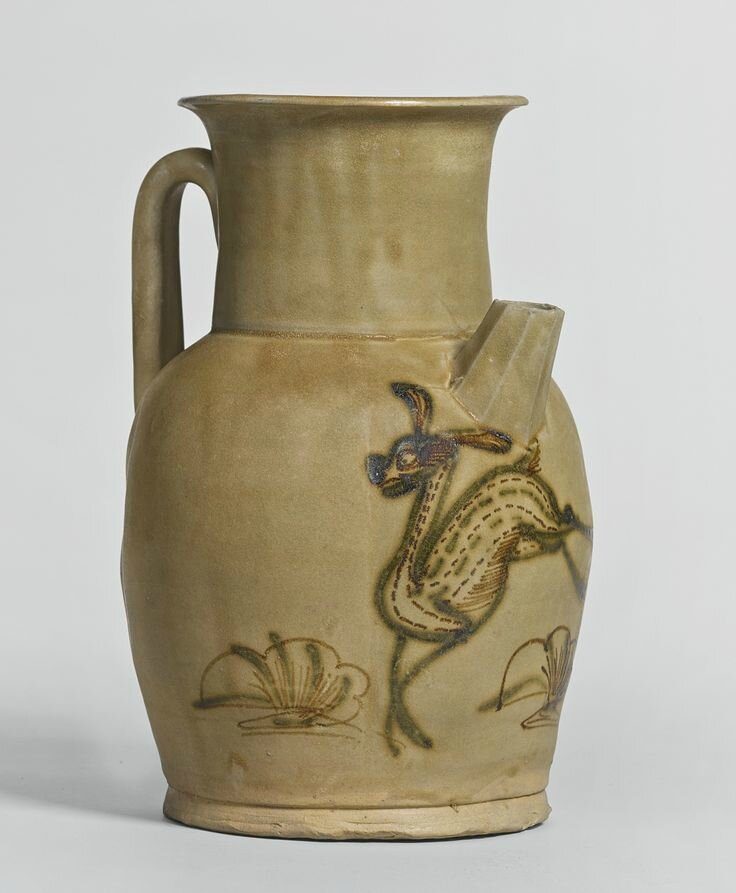 A 'Changsha' painted ewer, Tang dynasty