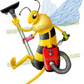 Bee and smile