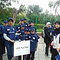 Les jeunes d'Ourika Tadamoune en délégation à la journée des dro