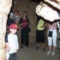 15 personnes à l'intérieur du baobab