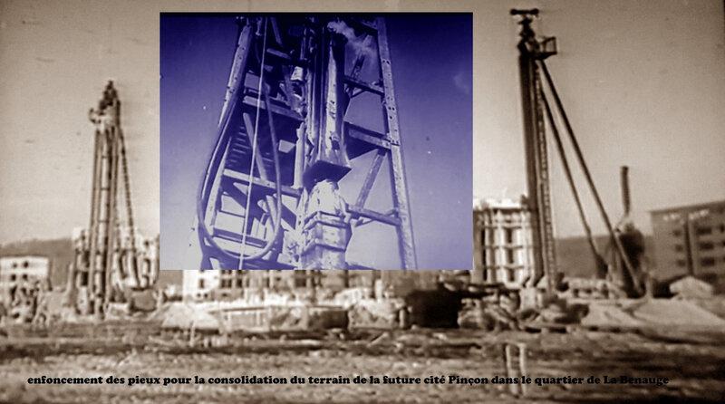 chantier du pré de Pinçon montage 02