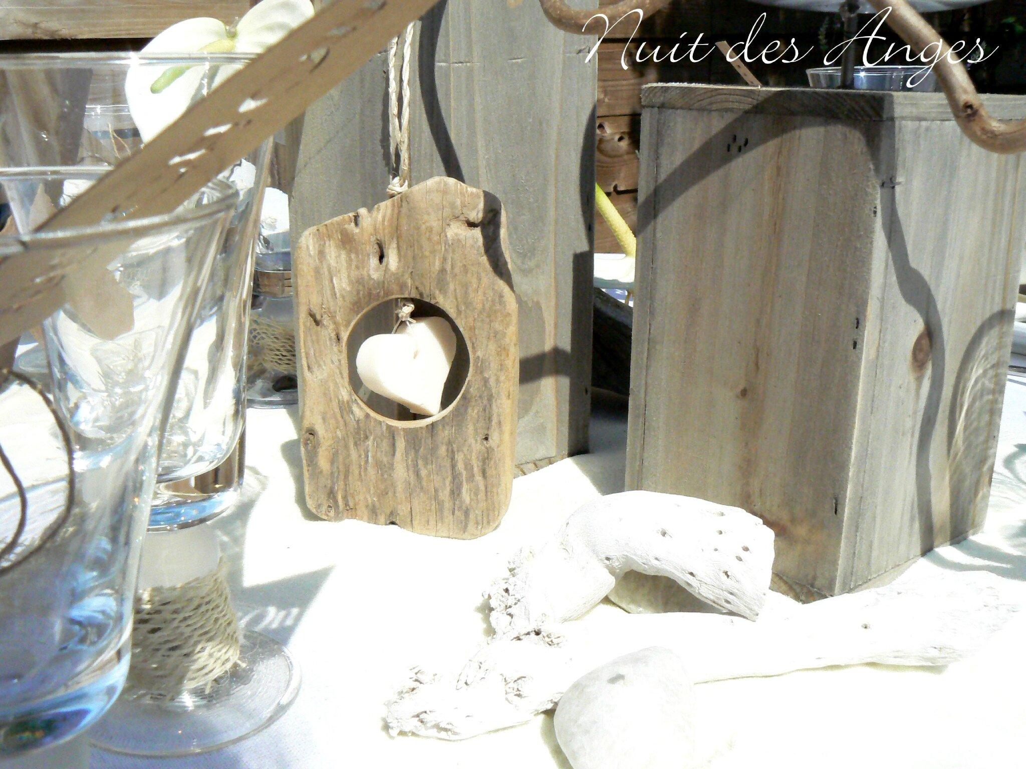 nuit des anges d coratrice de mariage d coration de table bois flott nature 010 photo de. Black Bedroom Furniture Sets. Home Design Ideas
