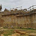 Guédelon, le château en construction