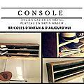 Console vintage