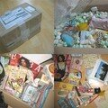 My package for my korean friend ~