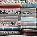 Mes lectures de mai 2018