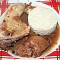 Cuisse de poulet à la guinness®