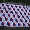 Ma vasarely blanket #10