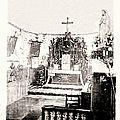 BAIVES-Intérieur de l'église (rare)