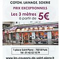 Les coupons de st pierre-paris