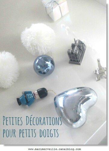 petites décorations de Noël pour petits doigts - Marimerveille