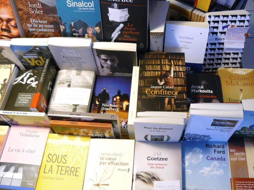 la rentrée littéraire étrangère 2013