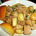 Saute de porc au sirop d erable
