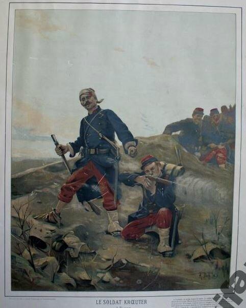 bloch, le soldat Kroeuter (couleur)