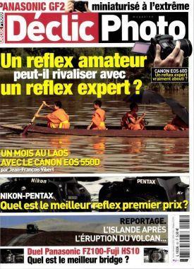 Couverture du magazine Declic Photo - Décembre 2010
