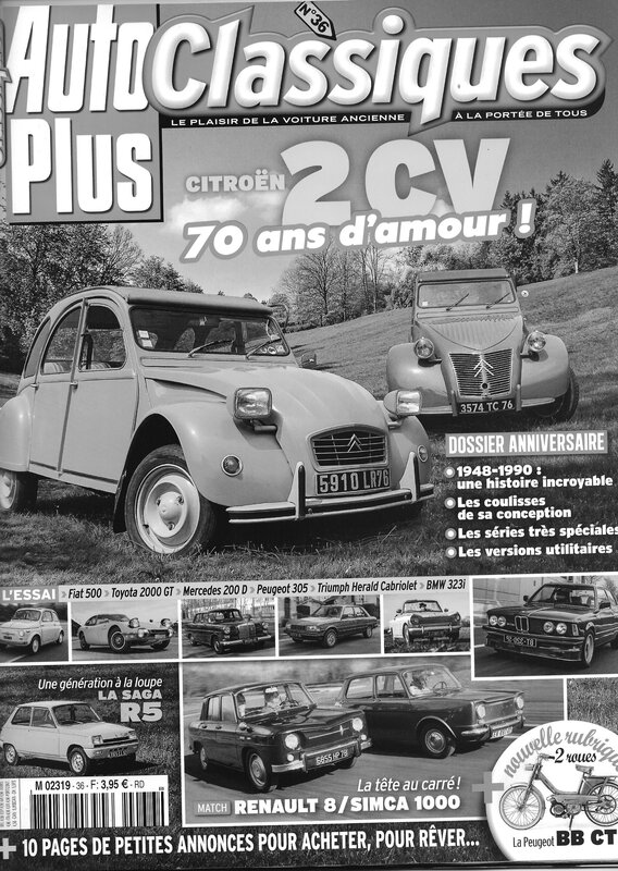 auto plus 2cv