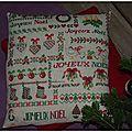 Coussin du père Noël