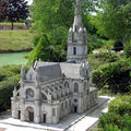 Sainte Anne d'Auray, maquette de la Basilique Sainte Anne