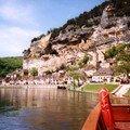 La Roque Gageac - balade en gabarre sur la Dordogne