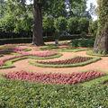 jardin PETERHOF castle, près de la demeure d'origine