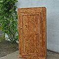 Bonnetière, armoire une porte