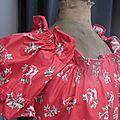 Robe ALBANE en coton rouge à coquelicots (5)