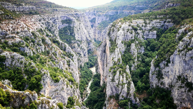 E) Gorges du Verdon, route panoramique