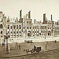 Ancien hôtel de ville après l'incendie