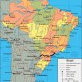 Brésil itinéraire au 29 décembre 2010