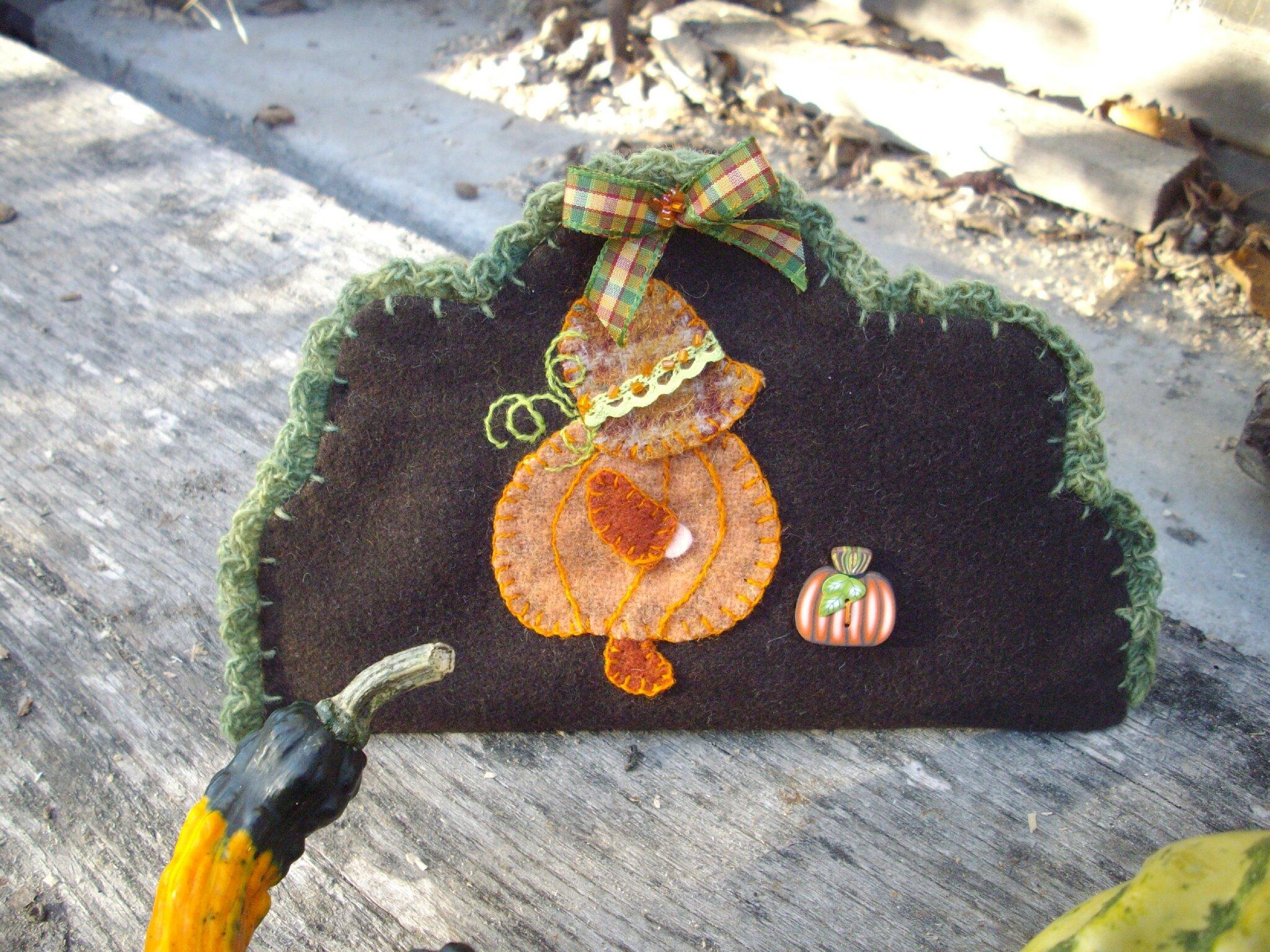 Sun Bonnet et la cueillette des citrouilles ...