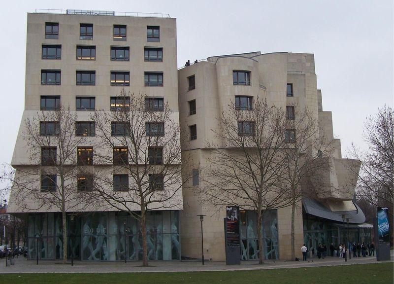 La facade de la Cinémathèque