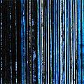 Forêt #58, 2014, acrylique et collage sur toile, 50 x 40 cm